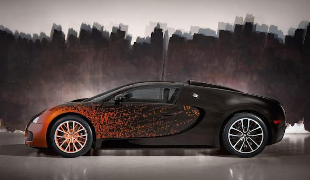 Bugatti Veyron Grand Sport Venet Announced