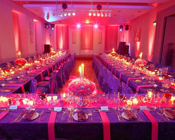 Sonal J. Shah Event Consultants, LLC: Red, Pink And Purple