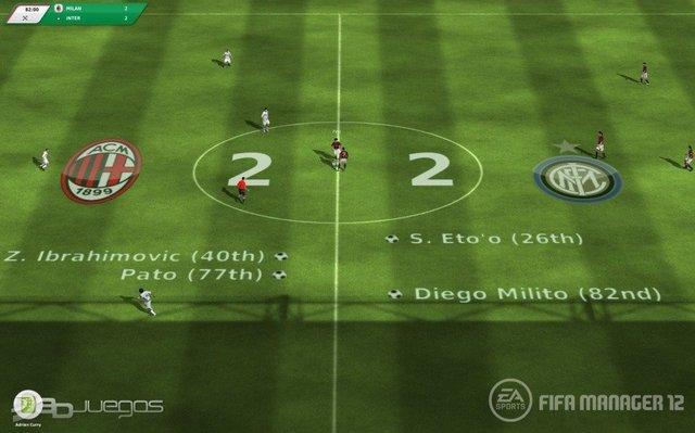 Capturas Fifa Manager 2012 PC Full Español