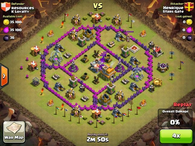 War Base TH Lv 7 Anti Dragon