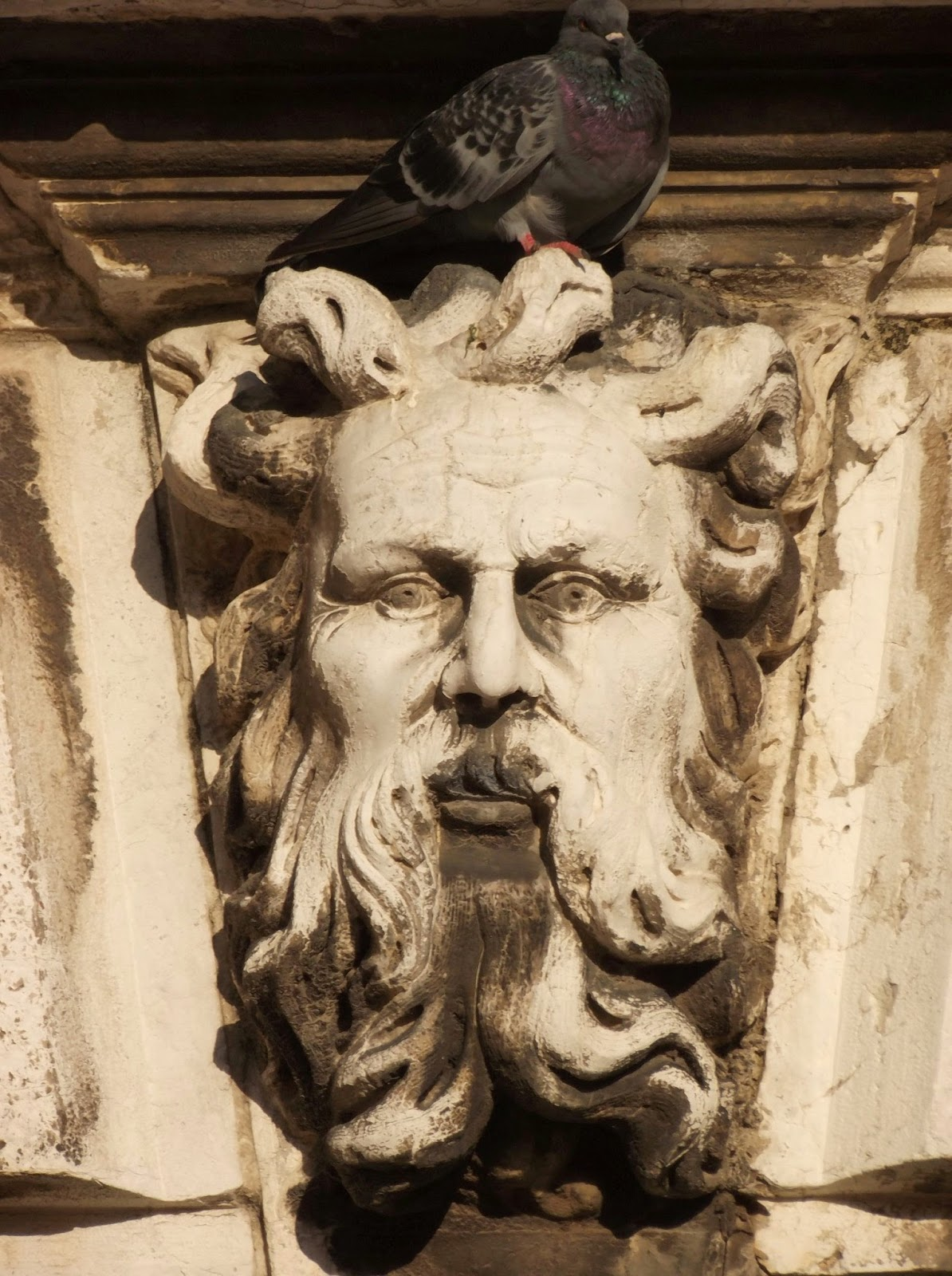 Headstone in Campo San Basegio, Venice