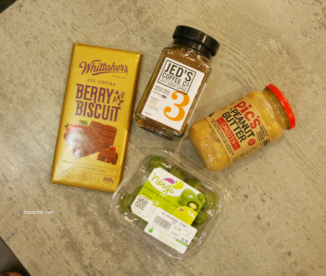 A couple of other products from the Taste New Zealand Food Fair October 2015 @ Cold Storage Malaysia
