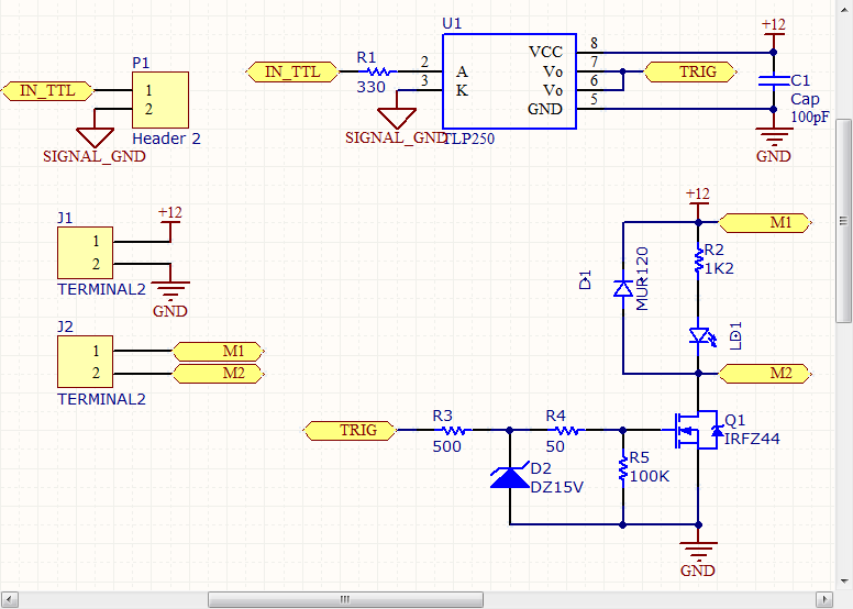 How to drive MOSFET from mcu 3 3V/5V | TESZ weblog
