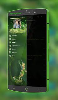BBM Mod Tema Kartun Tinkerbell