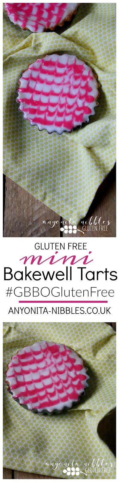 Gluten Free Mini Bakewell Tarts #GBBOGlutenFree | Anyonita Nibbles