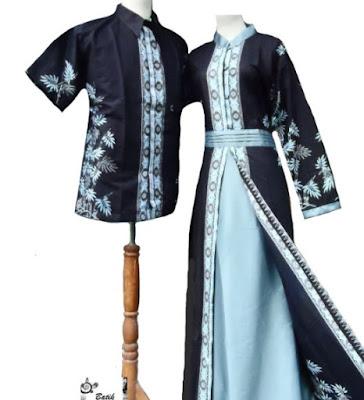 Model Dress Batik Orang Gemuk modern