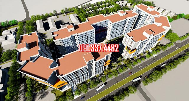 Chung cư nhà ở xã hội CT3 CT4 xã Kim Chung huyện Đông Anh