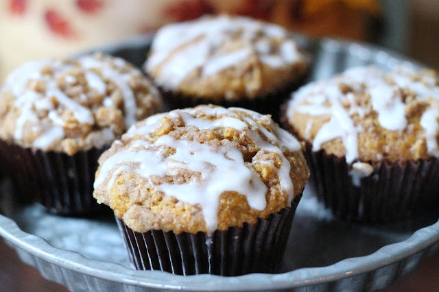 Pumpkin Streusel Muffins - AK Party Studio