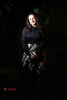 Actress Sonia Agarwal Stills in Black Top at Yevanavan Tamil Movie Audio Launch Event  0012.jpg