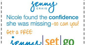 Latest Jenny Craig discount codes and coupons