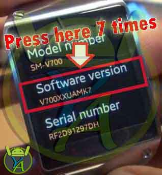 Firmware Android: Install and Update Samsung Gear S Watch SM-R750B