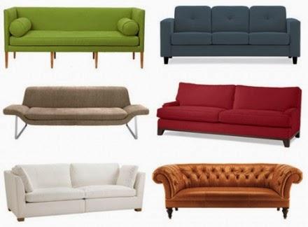diff rents types de canap s canap togo. Black Bedroom Furniture Sets. Home Design Ideas