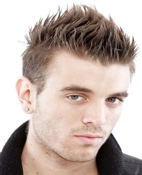 Model rambut pendek pria spike