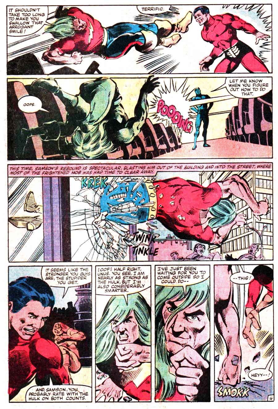 Incredible Hulk v2 annual #11 marvel comic book page art by Frank Miller