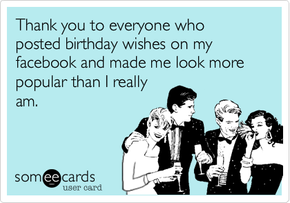 Funny Thank You Messages For Birthday Wishes Thank You