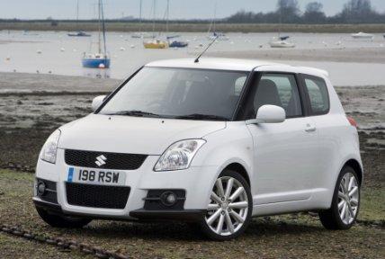 white swift car