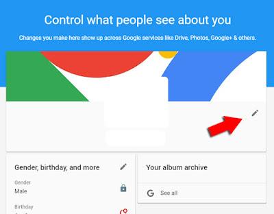 Ubah nama Google