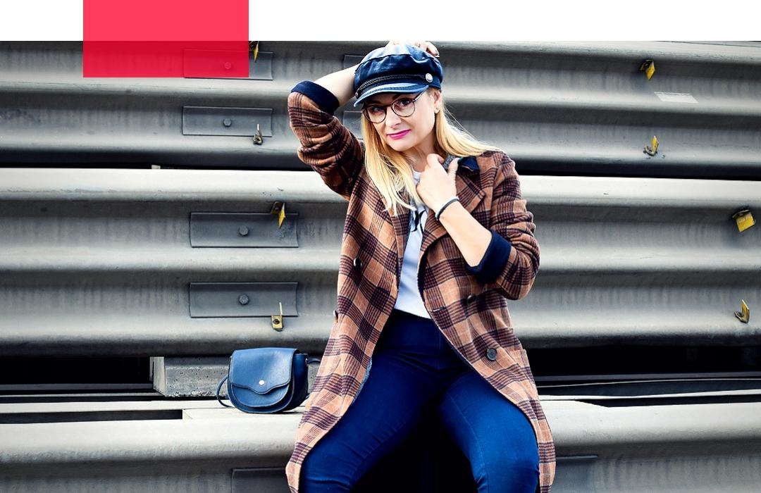 wie kombiniere ich karierte Teile / Modeblog Frauen ab 40
