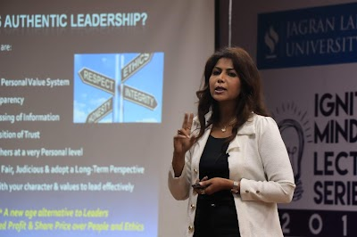 Igniting Minds Lecture by Ms. Sangeeta Chacko, Head – Corporate Communications, Percept Ltd