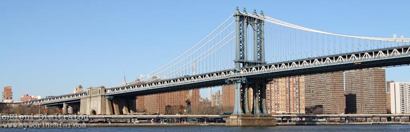 Νέα Υόρκη, γέφυρα Μανχάταν (c) Ελένη Δημητράτου