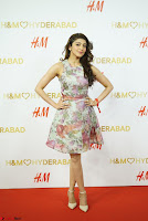 Pranitha Subash in lovely Flower Print Sleeveless Short dress ~  Exclusive 026.JPG