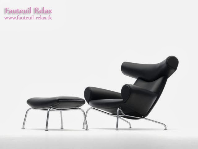 fauteuil boeuf design scandinave fauteuil relax. Black Bedroom Furniture Sets. Home Design Ideas