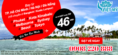 Khuyến mãi Air Asia