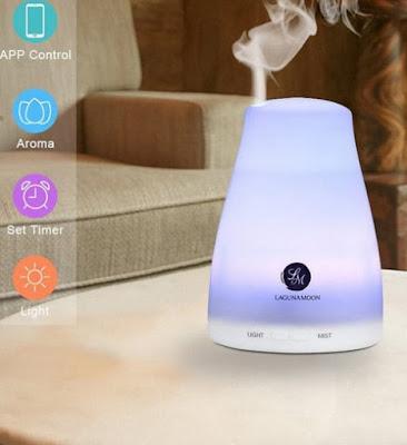 wishlist zaful.com - nawilżacz powietrza, zestaw olejków aromatycznych, komin i organizer
