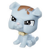 Littlest Pet Shop Series 2 Multi Pack Bullpup Scrapper (#2-95) Pet