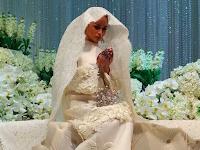 Sekitar Majlis Pernikahan Aktres Izara Aishah dan Muhammad Adib Khalid (FOTO)