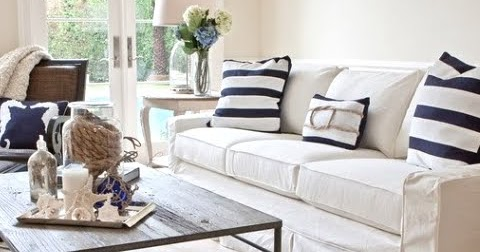 Slipcovered Furniture 101 Sofas Amp Chairs For Easy Coastal