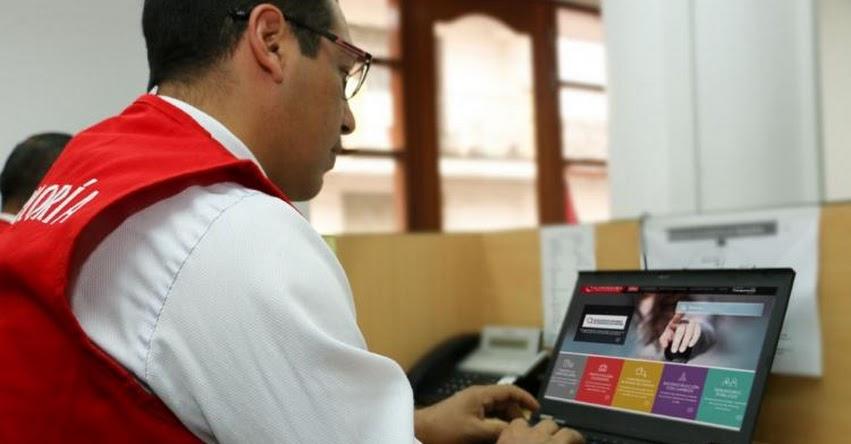 TRABAJA SIN ACOSO: Ministerio de Trabajo lanza plataforma virtual de registro de caso de hostigamiento sexual laboral