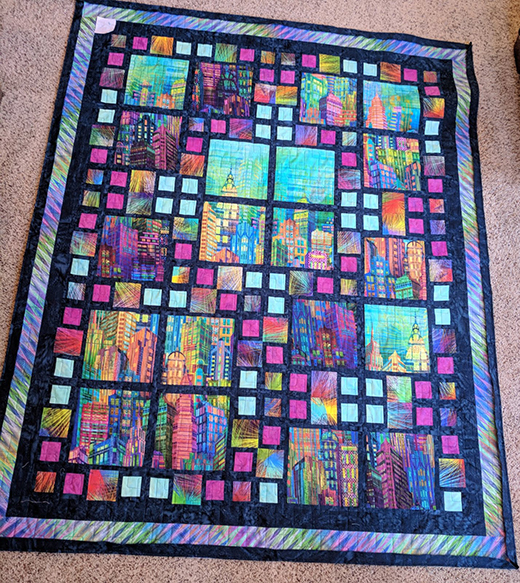 Skyline Sensation Quilt Free Pattern