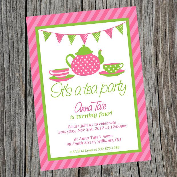 Evangeline' Tea Party