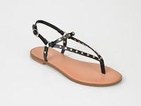 Sandale ALDO negre, Filanna, din piele ecologica