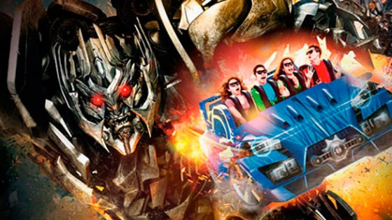 Transformers The Ride 3D na Universal em Orlando