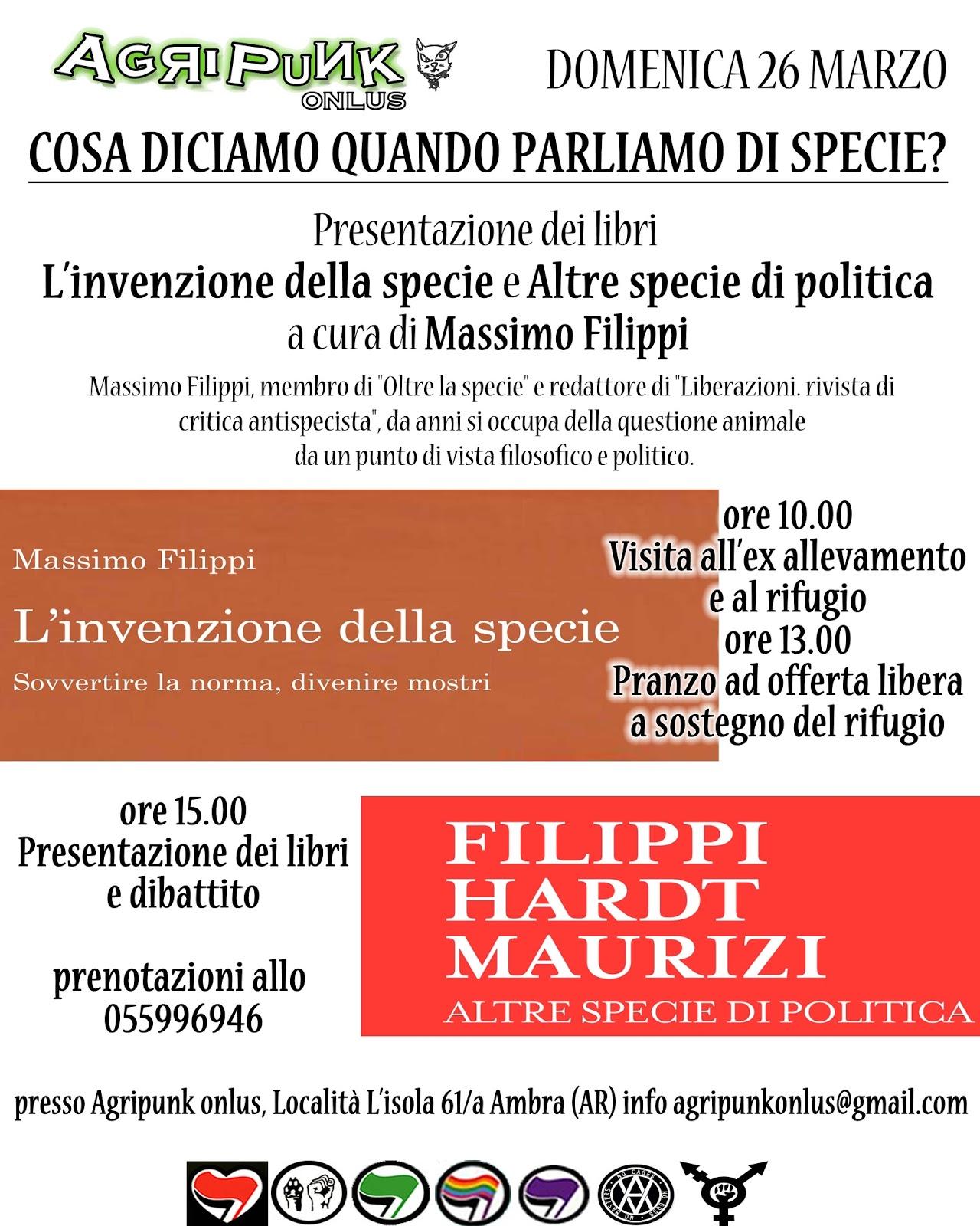 [Arezzo] Cosa diciamo quando parliamo di specie? @ Agripunk | Italia