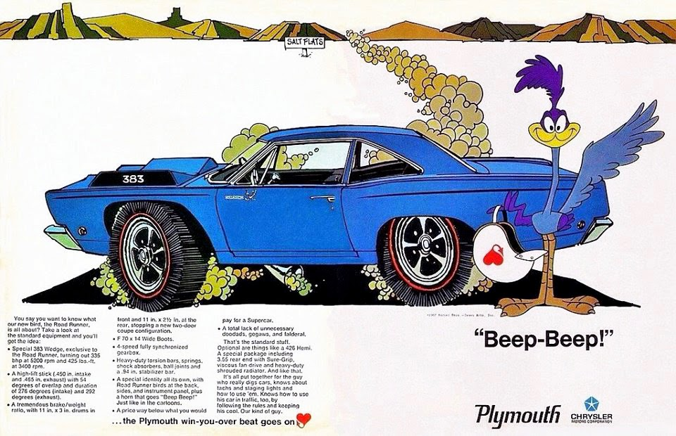 Just A Car Guy Cool Road Runner Poster I Don T Think I Ve