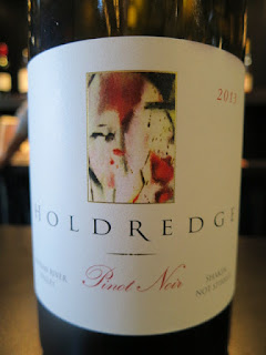 "Holdredge ""Shaken Not Stirred"" Pinot Noir 2013 (91 pts)"