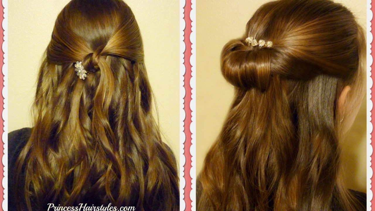 2 Easy Prom Hairstyles in 3 Minutes! | Hairstyles For Girls - Princess  Hairstyles