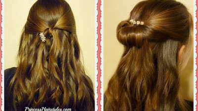 2 Easy, 5 Minute Prom Hairstyles
