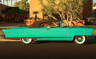 1956 Lincoln Premiere Convertible Side Right