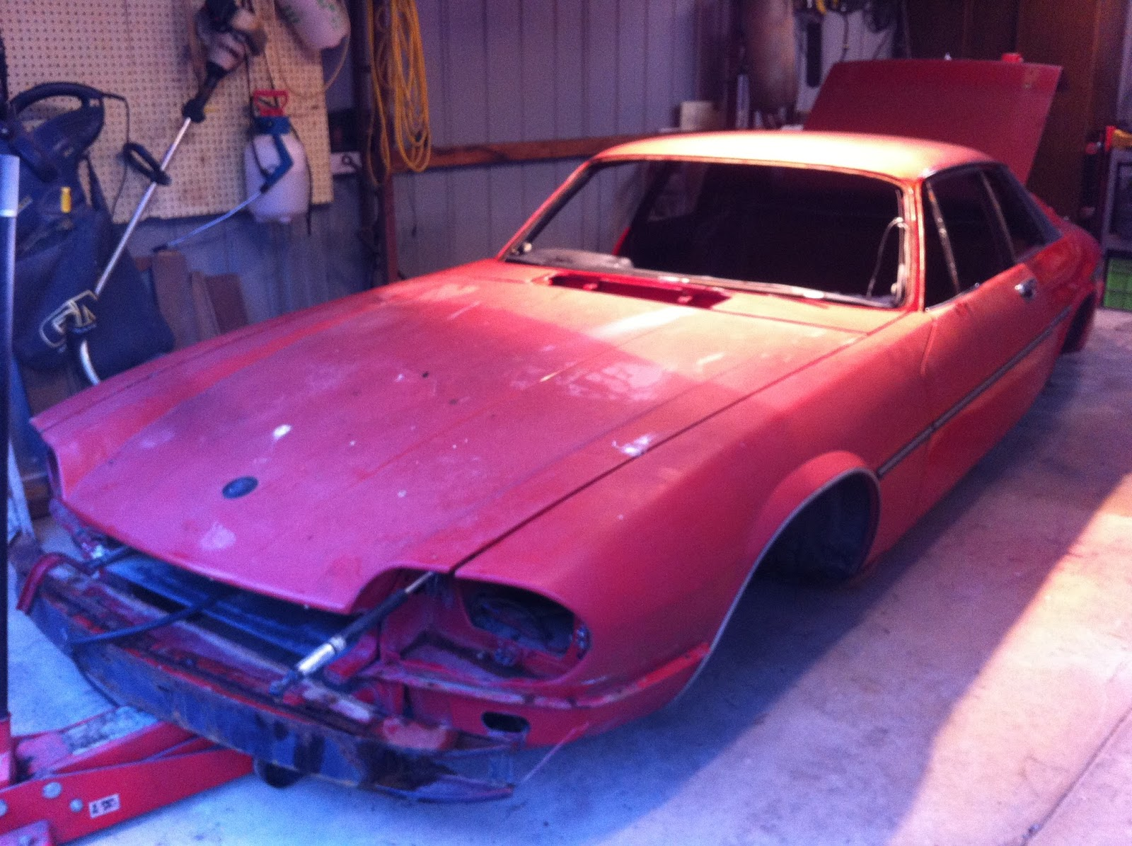 Jaguar Xjs Restoration Modification The Beginning Xj6 Wiring Harness Fluid Lines Dashboard Etc Rest Can Be Easily Obtained From Sedans Or Another