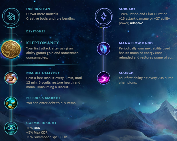 Ezreal New Runes Build