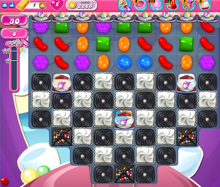 Candy Crush Saga level 2265