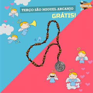 Brindes Grátis - Terço de São Miguel Arcanjo