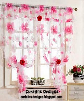 Modern curtain designs ideas for kitchen windows 2014 for Contemporary kitchen curtains