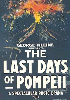 Póster película Los últimos días de Pompeya