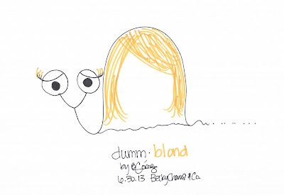 Dummberry as Dumm•blond by Becky Gomez || BeckyCharms & Co.