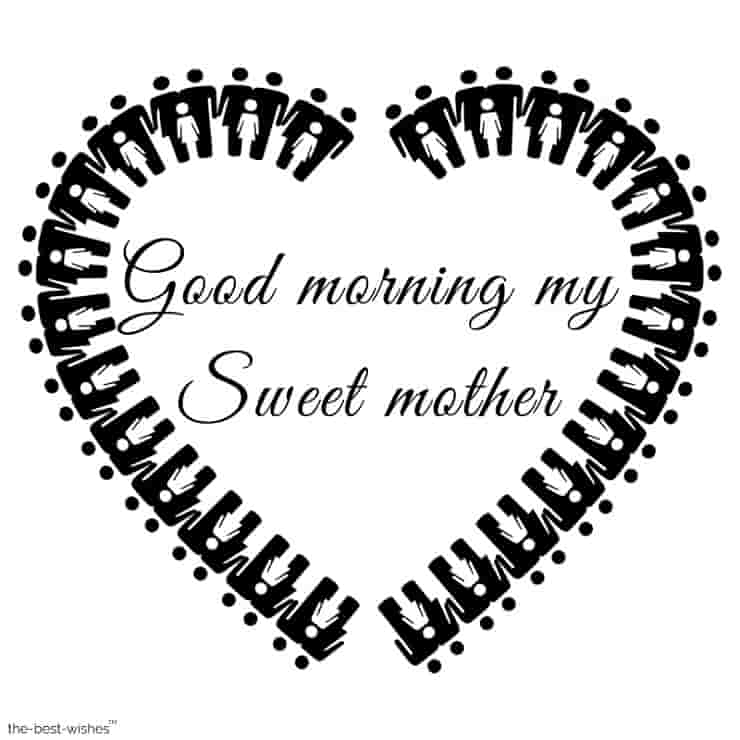 good morning my sweet mother image